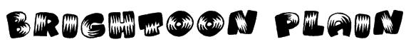 Brightoon Plain Font