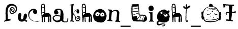 Puchakhon_Light_07 Font