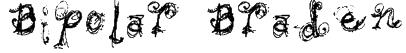 Bipolar Braden Font