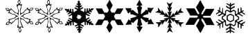 WWFlakes Font