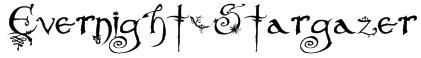 Evernight-Stargazer Font