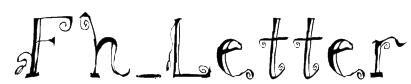 Fh_Letter Font