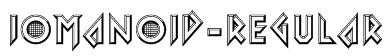 Iomanoid-Regular Font