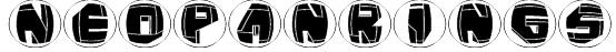NeoPanRings Font