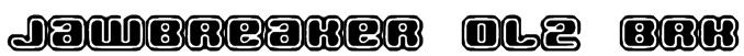 Jawbreaker OL2 BRK Font