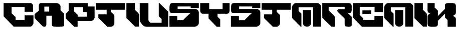 CaptivSystMRemiX Font