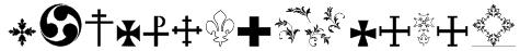 SymbolCrucifix Font