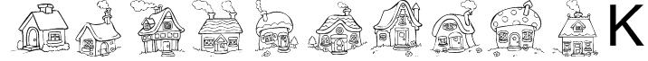 Destiny's Little Houses Font