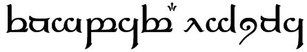 Tengwar Elfica Font