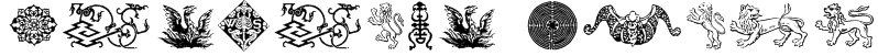Cultural Icons Font