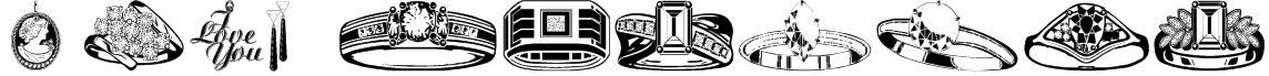 wmjewelry Font
