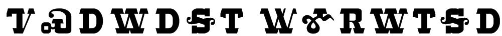 Tsalagi Ameliga Font