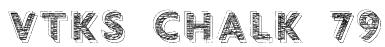 vtks chalk 79 Font