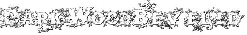 DarkWoodBeveled Font