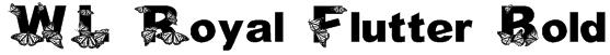 WL Royal Flutter Bold Font
