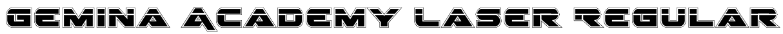 Gemina Academy Laser Regular Font