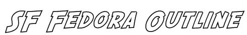 SF Fedora Outline Font