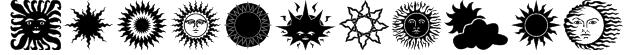 Sun n Moon Font
