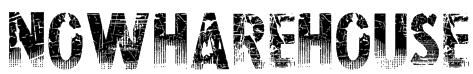 Nowharehouse Font