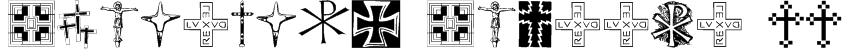 Christian Crosses II Font
