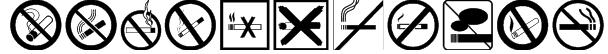 NoSmoking Font