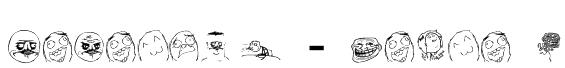 Memetica - Teste 1 Font