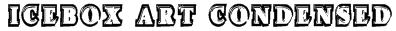 Icebox Art Condensed Font