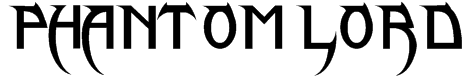 Phantom Lord Font