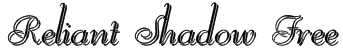 Reliant Shadow Free Font
