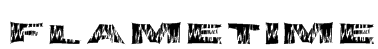 FlameTime Font