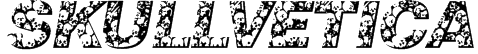 Skullvetica Font