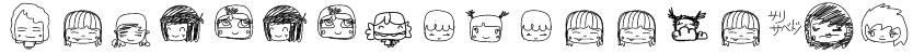 PixopopKawaiiGirls Font