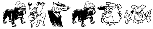 Big Bad Dogs Font
