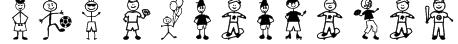 Boy Characters Font
