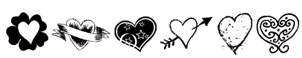 Heartz Font