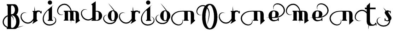 BrimborionOrnements Font