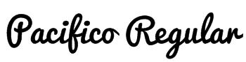 Pacifico Regular Font