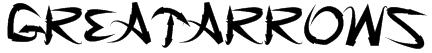 GreatArrows Font