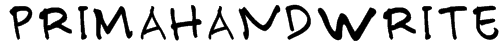 PRIMAHANDWRITE Font
