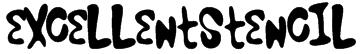 ExcellentStencil Font