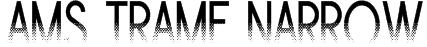 Ams Trame Narrow Font