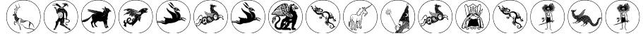 MythologicalDisks Font