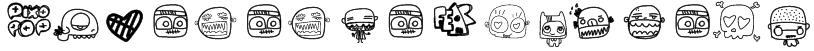 PixopopMonstalove Font