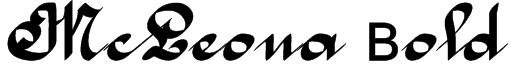 McLeona Bold Font
