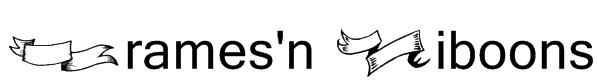 Frames'n Riboons Font