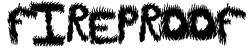 FireProof Font