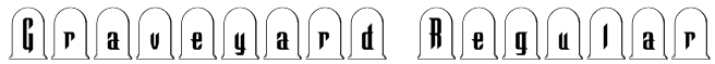 Graveyard Regular Font