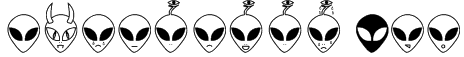 Aliencons TFB Font