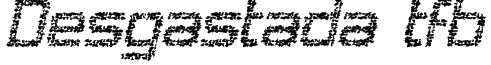 Desgastada tfb Font