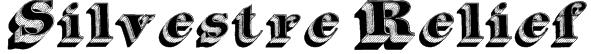 Silvestre Relief Font